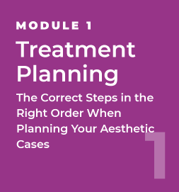 Treatment Planning - The Correct Steps in the Right Order When Planning Your Aesthetic Cases