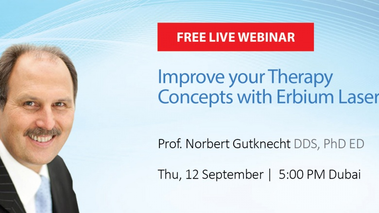 Live Webinar: Improve your Therapy Concepts with Erbium Lasers