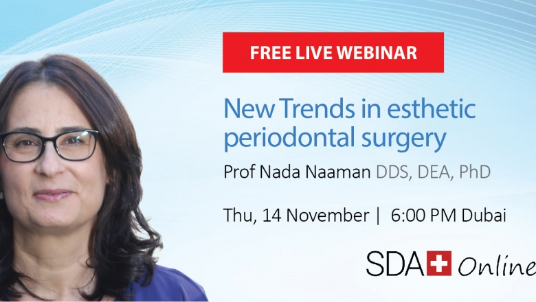 Live Webinar: New Trends in Aesthetic Periodontal Surgery