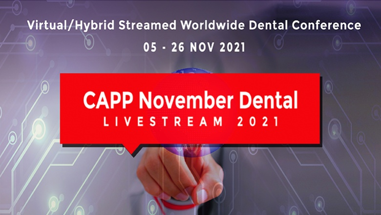 CAPP announces the largest free virtual dental conference in November. Expected 40,000 participants