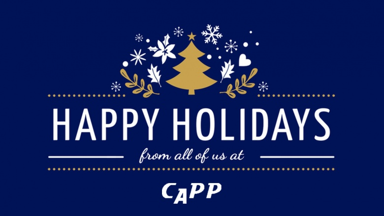 Happy Holiday from all of us at CAPP