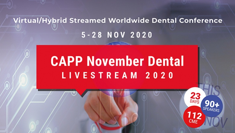 CAPP November Dental Livestream record attendance: 30,546 dental professionals from 149 countries